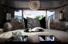 Rachel Horn's Tricked Out 1969 Airstream | Trendland: Design Blog & Trend Magazine