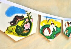 POKY LITTLE PUPPY Banner Vintage Little by collectingfeathers