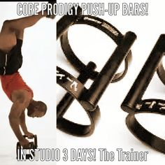 Core Prodigy push-up bars in studio in 3 days! These look cool, functional and unique! My kind of toy! The Trainer http://www.thetrainerhoodriver.com #thetrainer #hoodriver#personaltrainer #functionaltraining #functionaltrainer#rusticparkour #insideoutfitnesshoodriver #ultramarathon #fitness #functionaltrainer #health #running #fitnessaddict #workout #cardio #train #training #healthy #parkour #freerunning #columbiarivergorge #active #strong #motivation #determination #lifestyle #getfit #