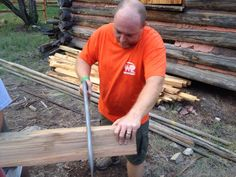 Summer Camp 2014 | Troop 5 works on Purdy's Cabin at Worth Ranch