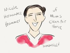 Cartoonist Liza Donnelly Live Tweets the State of the Union for Moms Clean Air Force #SOTU