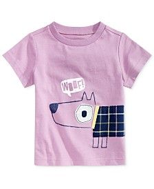 First Impressions Cotton Graphic-Print T-Shirt, Baby Boys (0-24 months), Only at Macy's http://Fave.co/2kF1K1O