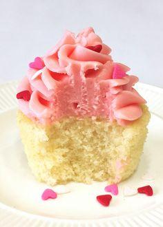Moist Vanilla Cupcakes - My Baking Obsession