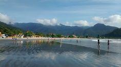 praia linda em são Paulo Ubatuba beach  Perequê açu