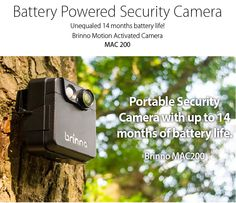 Battery Powered Security Camera with a Camera Life of up to 14 months! Motion Activated Camera, Time Lapse Camera, Camera Life, Security Cameras For Home, Selfie Stick, Sticks, Photos, Household Items, Pictures