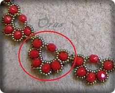 השרשרת מורכבת מחצאי פרחים בעליחמישה עלי כותרת   התהליך מורכב ממחזוריות:   * עיגול מרכזי (אליו מתחברים עלי הכותרת):   רוקאי - 2, 15, 2...