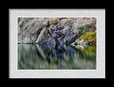 Castle Reflections Framed Print By Marnie Patchett