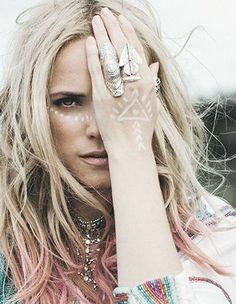 Color Magic #Pink ★ #bohemian #fashion Bohemian Girls, Bohemian Summer, Bohemian Style, Boho Chic, Gypsy Rose, Boho Gypsy, Hippie Boho, Foto Rose, American Gypsy