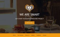 Free Restaurant Bootstrap HTML5 Template
