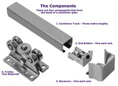 CLICK HERE FOR A HANDY DIMENSIONS TABLE COVERING THE TOTAL CANTILEVER TRACK  RANGE