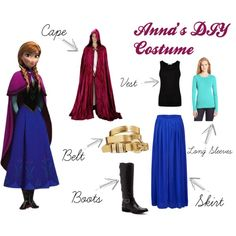 Princess anna dress tutorial diy free pattern diy costumes homemade anna costume google search solutioingenieria Image collections