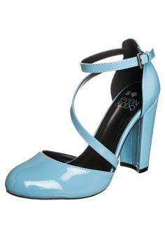 Even&Odd - Højhælede pumps - pastel blue