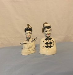 Asian Inspired Decor, Asian Decor, Chinese Figurines, Box Company, Oriental Decor, Chinese Man, Phantom Of The Opera, Yard Sale, Masquerade