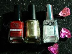 Be Fashion Be Glamour By Nushka: Manicuras para Fin de Año / New Year´s Eve Manicure