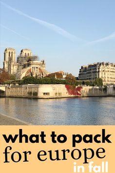 What to pack for europe in the fall - #packinglist for Europe in Autumn - everything you need to stay chic while living out of a suitcase while on tour through Europe. #travelpacking Europe Packing late September, October and November. Packing For Europe, Travel Packing, Packing Lists, Last Minute Travel, What To Pack, Weekend Trips, European Travel, Autumn, Fall