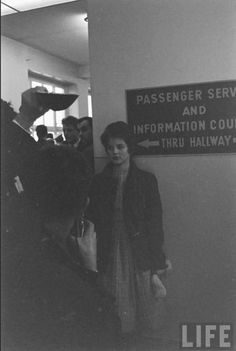 Priscilla Beaulieu on March 1960 at Rhein-Main airbase in Frankfurt, Germany. Elvis And Priscilla, Priscilla Presley, Elvis Presley, Robert Sean Leonard, Lisa Marie, Real Beauty, Tumblr Girls, Love At First Sight, Recipes