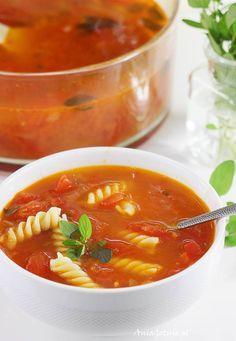 Zupa pomidorowa ze świeżych pomidorów, 9 Thai Red Curry, Ethnic Recipes, Dinners, Oriental Recipes, Polish Food Recipes, Dinner Parties, Food Dinners, Dinner, Suppers