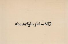 visual-poetry:  The NO was ON bybpNichol(+) (viaartistsbooksandmultiples)