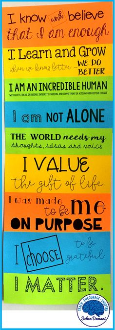 Affirmations Poster
