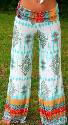 Beach Style 2014 - Style Estate - Mojave Palazzo Pants
