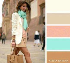 """""""Playful Never Plain"""" color palette Colour Combinations Fashion, Color Combinations For Clothes, Fashion Colours, Colorful Fashion, Color Combos, Color Balance, Colour Pallete, Colour Colour, Color Beige"""