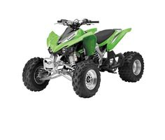 Check out the deal on New Ray Toys - 1:12 Scale Kawasaki KFX450R ATV Green Replica at BTO SPORTS