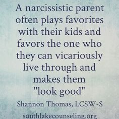 Holy crap! This is explains a lot re: my ex. Glad my kids are done dealing by with this aspect of her illness.