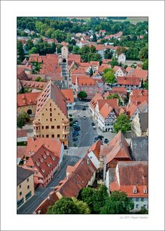 Nordlingen, Bavaria, Germany (on a Christmas Market road trip via the Romantic Road-a must do)
