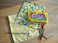Fireflies and Jellybeans: How to Make a Crinkle Tag Blanket