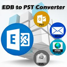 Recover EDB database to PST file by EDB to PST Converter Tool. Save all recovered database from Exchange EDB to PST into 3 other formats by the use of Exchange database recovery Software.  Read More:- http://www.convert.edbtopsttool.com/