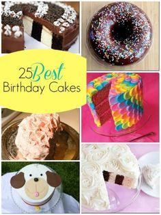 25 Best Birthday Cakes Ideas @Remodelaholic