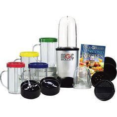 Magic Bullet Express Deluxe 26-piece Mixer & Blender (25-piece with Bonus Ice Shaver Blade)
