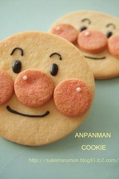 簡単可愛いアンパンマンクッキーの作り方♪ レシピブログ