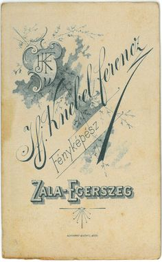Todos os tamanhos | ifj. Knebel Ferenc Zalaegerszeg verzo | Flickr –… Vintage World Maps, Photo And Video, Cards, Maps, Playing Cards