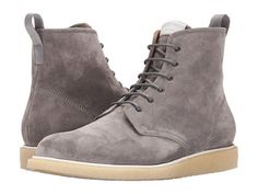 e64894552cf rag   bone Men s Grey Suede Leather Ankle Boots