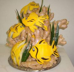 escultura de frutas e legumes - Pesquisa Google
