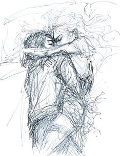 Couple Sketch, Cute Couple Drawings, Love Drawings, Couple Art, Art Drawings, Peter Pan Dibujo, Peter Pan Art, Geometric Shapes Art, Arte Disney