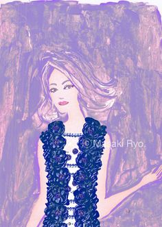 inspired by Chanel Resort 2015 Collection | illustration by Masaki Ryo.