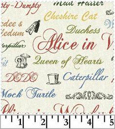 Windham Alice in Wonderland Print