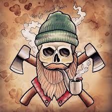 Resultado de imagen para old school tattoo art mustache