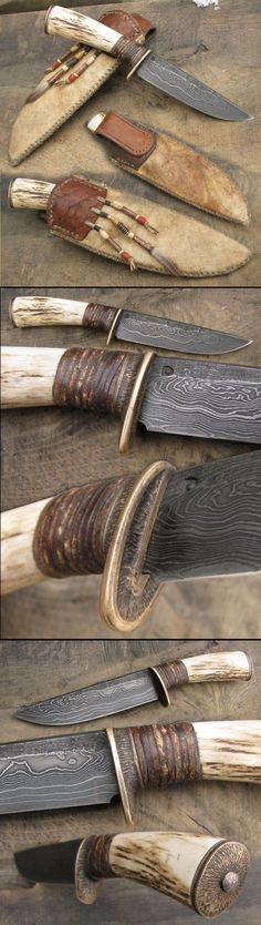 Discover thousands of images about Hand forged horseshoe knife.