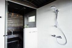 sauna and shower