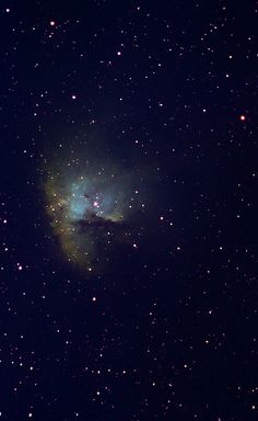 NGC281 The Pacman Nebula in Hubble Palette | by astrochuck