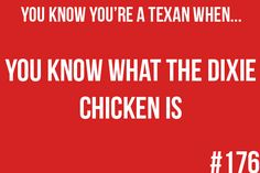 """You know you're a Texan when...or shal we say """"you know you're an aggie when..."""""""