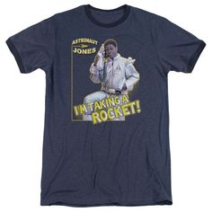 Snl - Astronaut Jones Adult Ringer T- Shirt