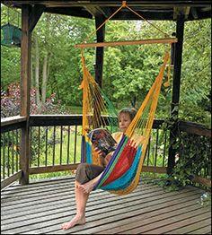 Mayan Hammock Chair - Gardening