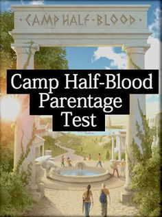 Camp Half-Blood Demigod Parentage Test. Really accurate quiz to find who your parent is! I got Apollo and Poseidon!