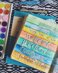 Bible Journaling by Rachael Milner @rcmilner | Acts 28:30-31