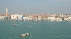 Venice as seen from the bell tower of the Church of the Redentore, Giudecca, Venice, Italy (Joe Cruz photo).