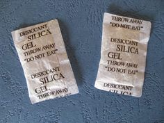 Better think twice before you throw away your silica gel. Read on why. Vicks Vaporub, Silica Gel, Interesting Information, Clean House, Home Remedies, Cleaning Hacks, Helpful Hints, Clever Tips, Diy
